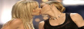 Britney Spears Kisses Madonna